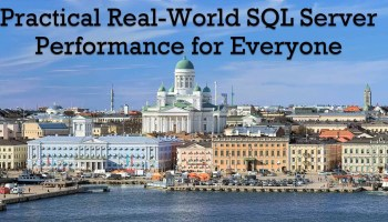 Practical Real World Performance Tuning - 50% Discount for 15 Days helsinki