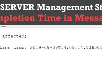SQL SERVER - Activity Monitor - Active Expensive Queries completion-time