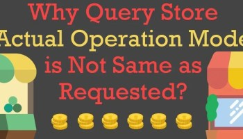 SQL SERVER - Turning OFF or ON Query Store for All the Database querystoreoperationmode