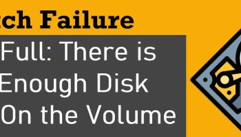 SQL SERVER - Installation Error: The Specified Value 'Install' for ACTION is Invalid diskfull