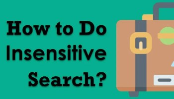 SQL SERVER - Case-Sensitive Search Case-Insensitive
