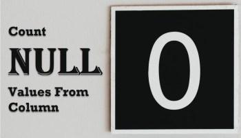 SQL SERVER - MySQL - Order Column by Nearest Value for Any Integer countnull