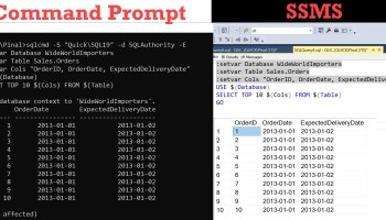 SQL SERVER - Enable SQLCMD Mode in SSMS - SQL in Sixty Seconds #048 sqlcmdmode0
