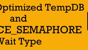 SQL SERVER - Reducing TempDB Recompilation with Fixed Plan Memory-Optimized-TempDB