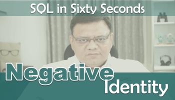 SQL SERVER - Identity Column is Difficult to Remove 101-NegativeIdentity-cover1