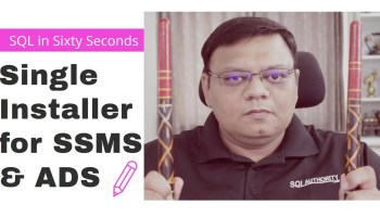 How to Install SQL Server 2019? - Interview Question of the Week #287 - SQL in Sixty Seconds #092 138-SSMS-ADS-yt