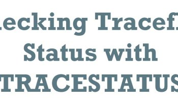 SQL SERVER - Trace Flags - DBCC TRACEON TRACESTATUS