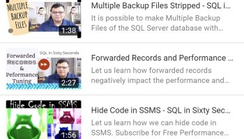 SQL SERVER - Creating Multiple Backup Files - Stripped multiplebackup