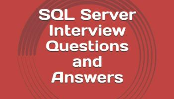 SQL Server Interview Questions and Answers: Updated 2021 FrontCover