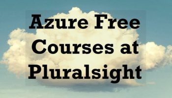 Understanding Non-relational Data with Azure - Pluralsight Course AzureFreeCourses-800x364