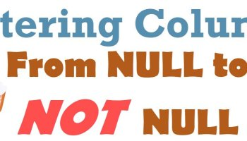 SQL SERVER - Count NULL Values From Column AlteringColumn