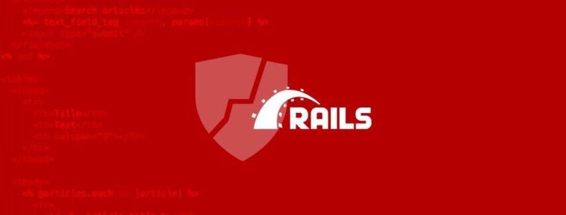 Rails Vulnerabilities