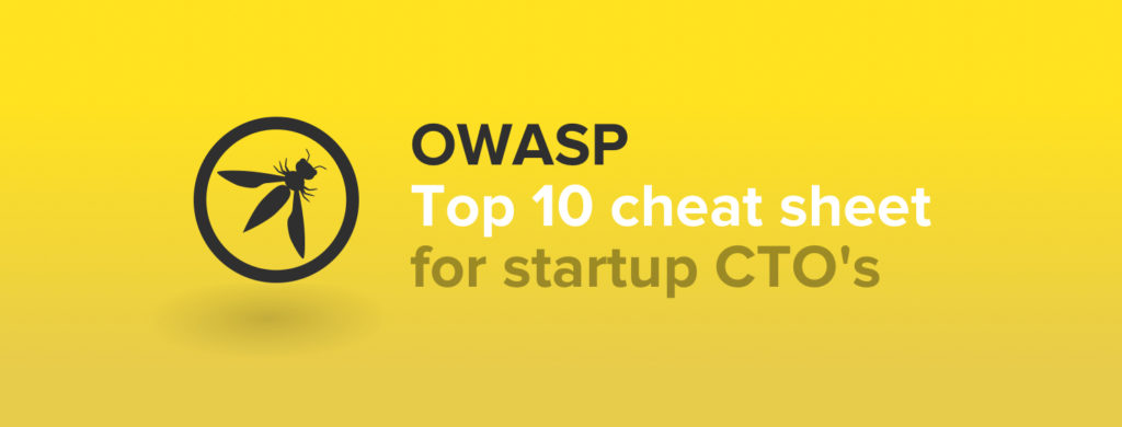 OWASP Top 10 Cheat Sheet - Sqreen Blog