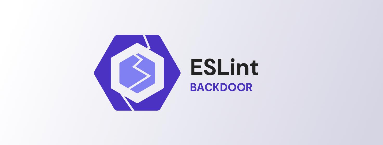 Eslint backdoor banner@2x