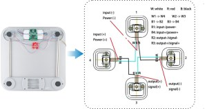 Load Cell Wiring (click to zoom)