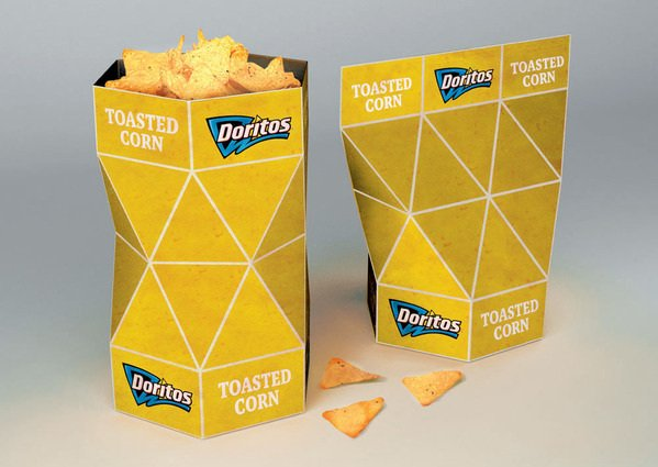 creative dorritos packaging