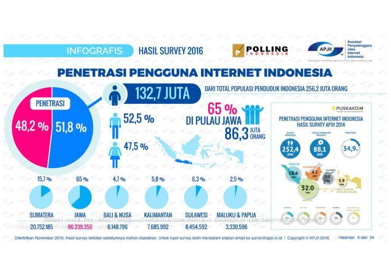 Cara Bisnis Online: Penetrasi Internet Indonesia