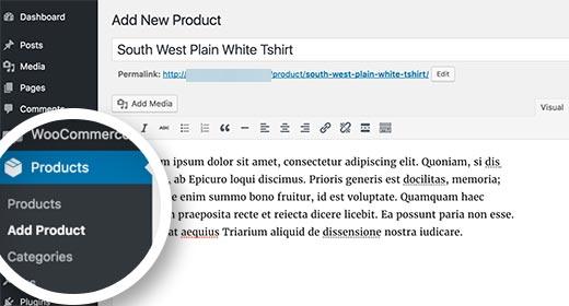 tambah produk woocommerce cara membuat website toko online di wordpress