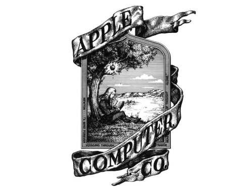 apple logo history