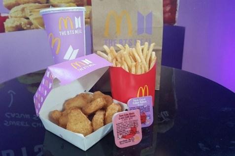 McD BTS Meal