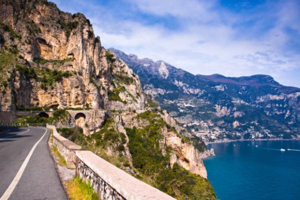 22 - Estrada Costeira de Amalfi, Itália
