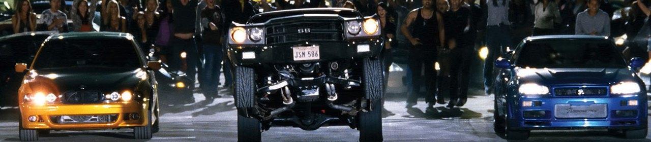 Os carros mais legais de Velozes e Furiosos