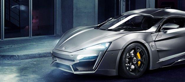 Lykan Hypersport : O supercarro de Velozes e Furiosos 7
