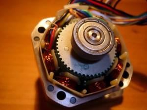 A stepper motor