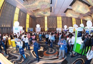 The show floor at last year's STM32 Summit