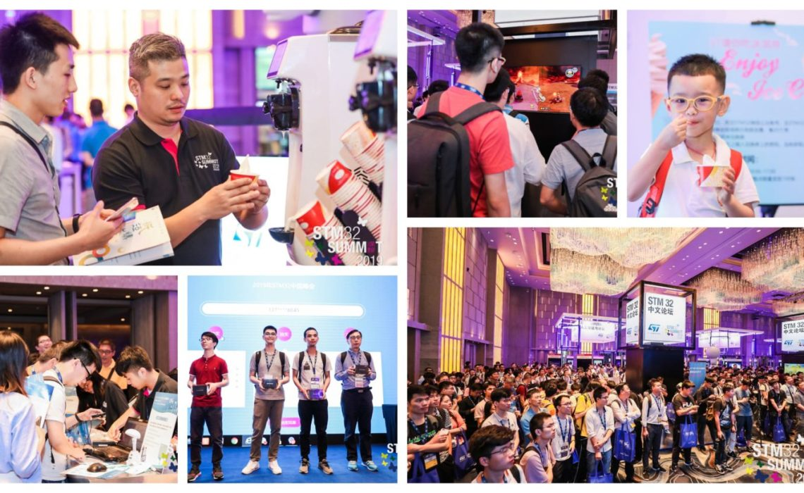 [Day 2] STM32 Summit: Fans galore at Fun Carnival