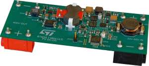 Digital MPPT solar converter demonstrator board illustration from ST