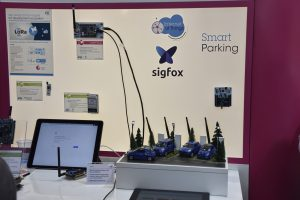 S2-LP sigfox Smart Parking demo