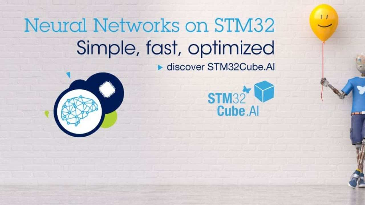 STM32Cube AI: Convert Neural Networks into Optimized Code for STM32