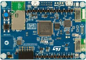 A picture of the B-L475E-IOT01A Discovery kit