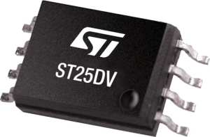 The picture of the ST25DV's package