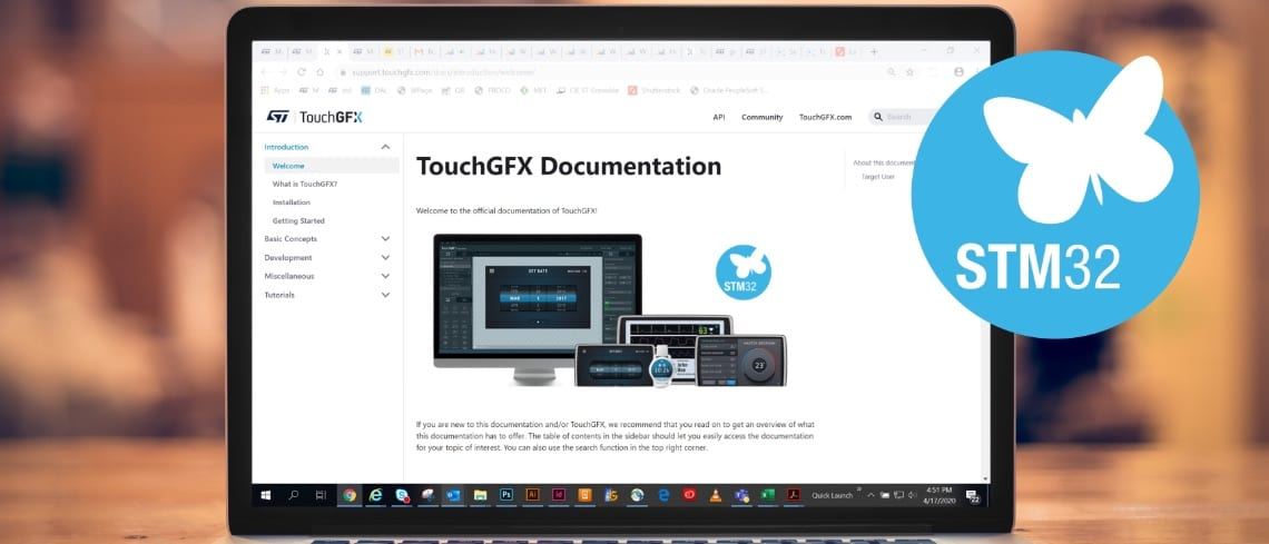 X-NUCLEO-GFX01M1 and TouchGFX 4.15: The Frame Buffer Is So Small It's Almost Unbelievable
