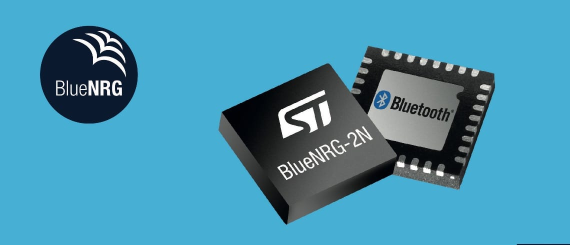 BlueNRG-2N: ST's First Bluetooth 5 Network Processor, No MCU for Low-Power Systems