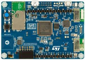 The STM32L4 Discovery kit IoT node used in the STM32 Step-by-Step program