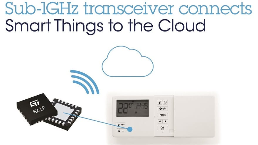 S2-LP Transceiver, Wireless Communicators Last 10 Years on a Single Battery