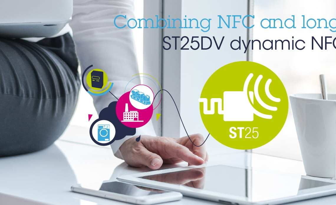 ST25DV: Dual interface NFC tags