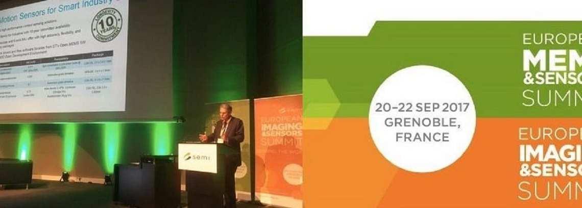 ST CEO Carlo Bozotti Discusses Next-Gen Sensors at SEMI Event