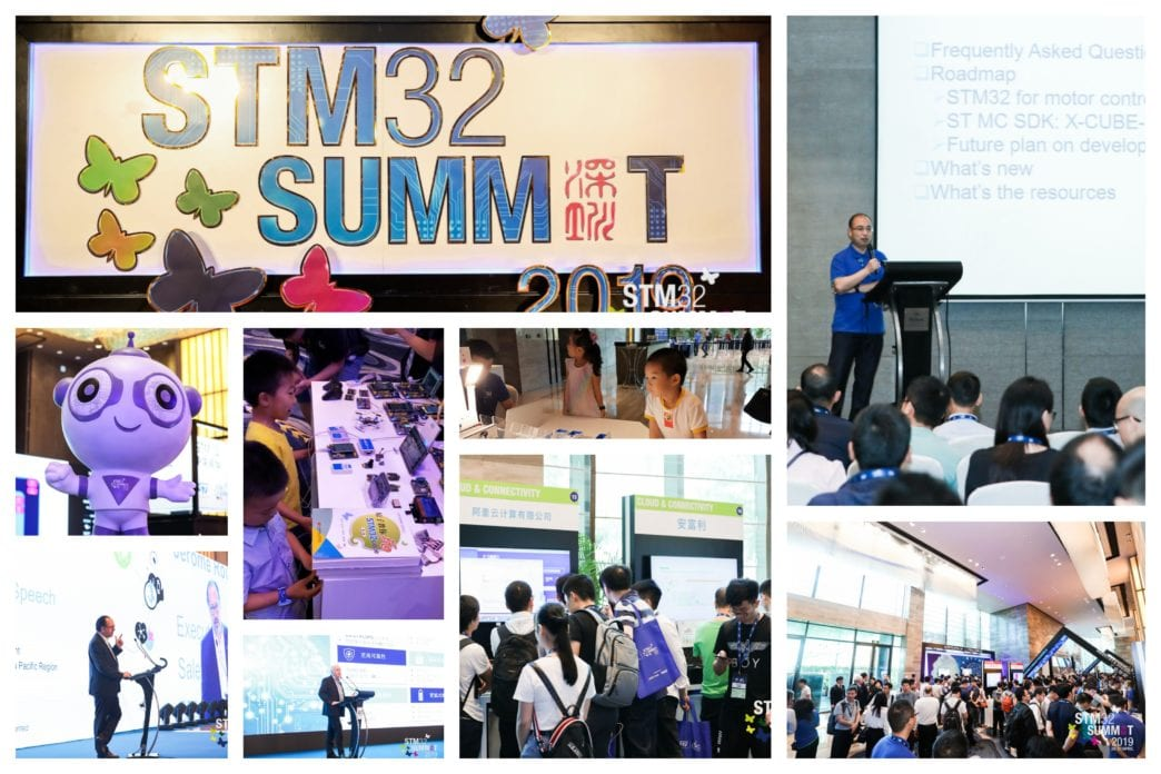 YOU are what makes ST great in China [STM32 Summit 2019]