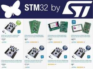 STM32 on Amazon