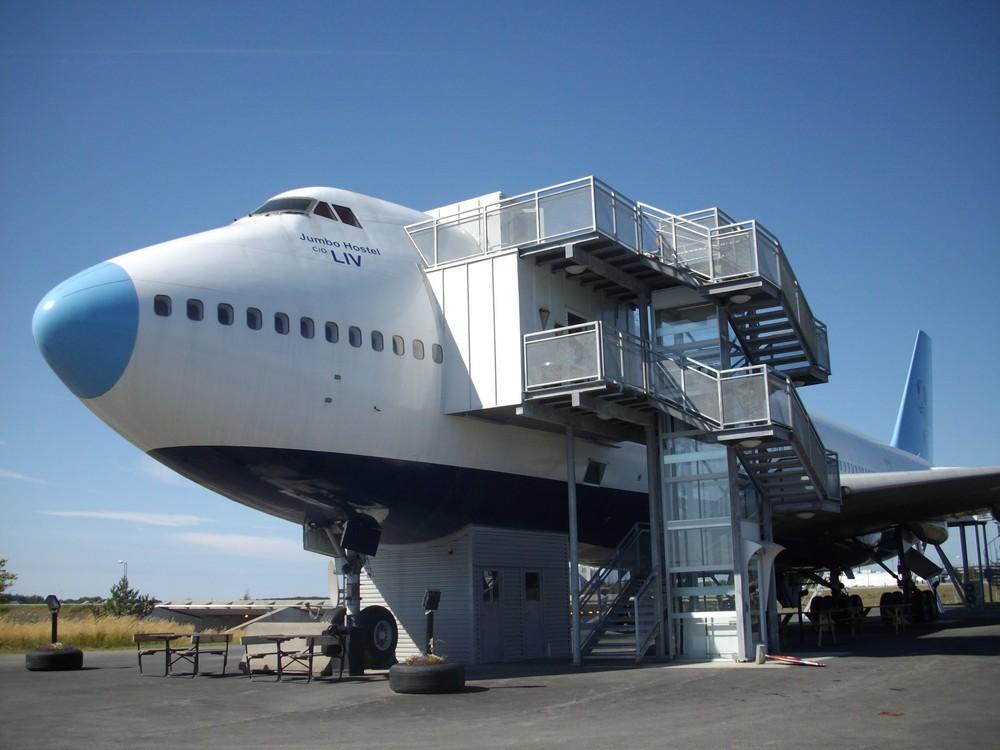 747 Jumbo Hostel, Sweden