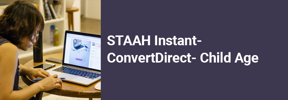 STAAH Product Updates: Child Age feature in STAAH Instant