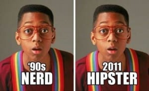 Urkel the new Hipster