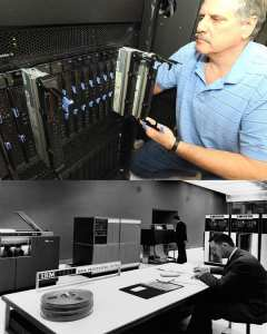 Mainframes then and now