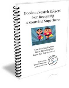 Boolean Search Ebook - Secrets for Becoming a Sourcing Superhero