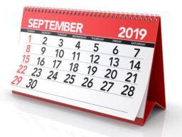 September 2019  Gemeinde-Kalender-Informationen-Veranstaltungen