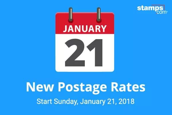 New Us Postal Rates Chart January 26 2014